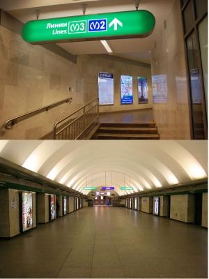 Станция метро Гостиный Двор