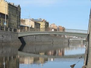 Монолитный Масляный мост в Санкт-Петербурге расположен в створе Масляного...