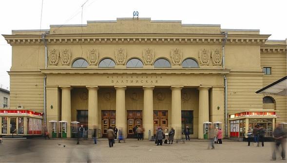 Схема линий и станции метро Санкт-Петербурга