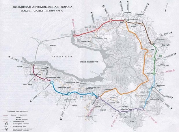 Карта кад санкт-петербург схема