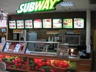 Рестораны быстрого питания Subway в Санкт-Петербурге