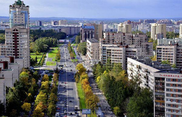 Двух районах города санкт петербурга