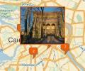 Где находятся раличные храмы в Санкт-Петербурге?