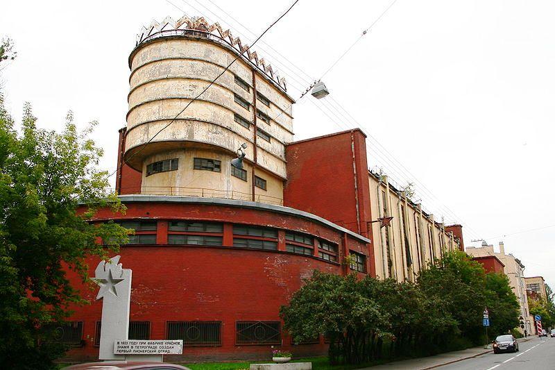 Какая фабрика в Санкт-Петербурге самая старая?