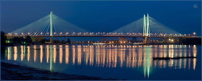 Какой мост самый длинный в Санкт-Петербурге?