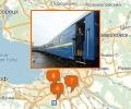 Где можно купить билет на поезд в Санкт-Петербурге?