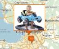 Где купить колыбель и ходунки новорожденного в Петербурге?